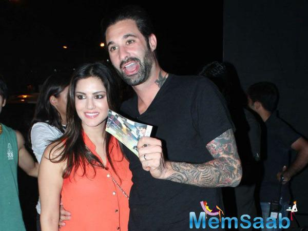 Daniel Weber denied another story about a drunk man bursting into Sunny's room.
