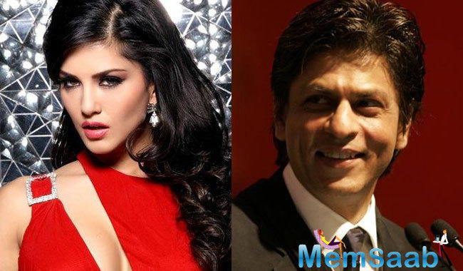 As per the report Bollywood Badshah Shah Rukh Khan started shooting with actress Sunny Leone for an item song for his upcoming film Raees on Friday.
