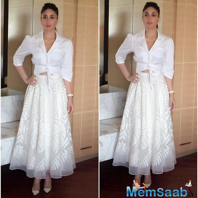 """When asked if she would like to feature in a Hollywood film, Kareena said: """"I have no interest in Hollywood. Today, people are watching Hindi films all over the world and in fact Hindi films are dubbed in all languages."""