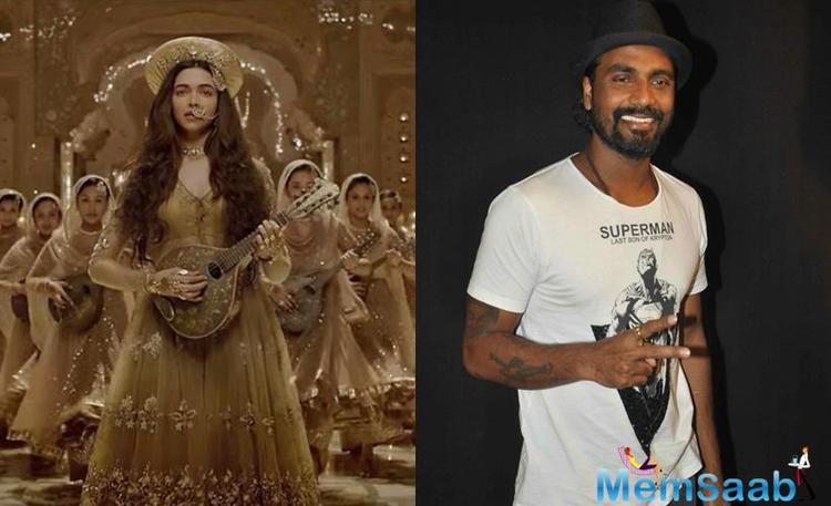Remo D'Souza is  winner of  the best choreography award for Deewani Mastani song in Bajirao Mastani