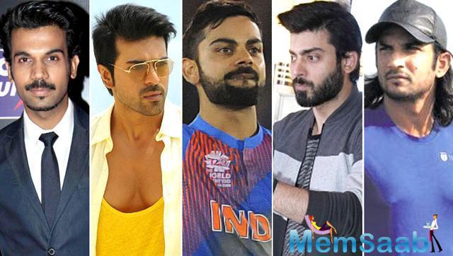 At the base of Virat Kohli ever angry, ever ready, ever dynamic, Ram Charan Teja, Allu Arjun, Rajkummar Rao, Sushant Singh Rajput and Fawad Khan can play the cricketer on screen.