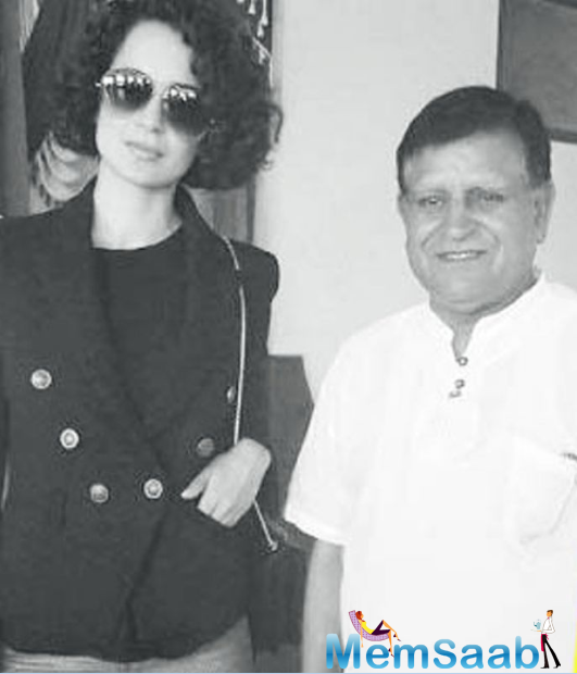 Kangana Ranaut, who flew to Manali on Sunday, reportedly visited a Pundit in Joginder Nagar- 70 km away from Mandi in Himachal Pradesh, where she is building her new home.