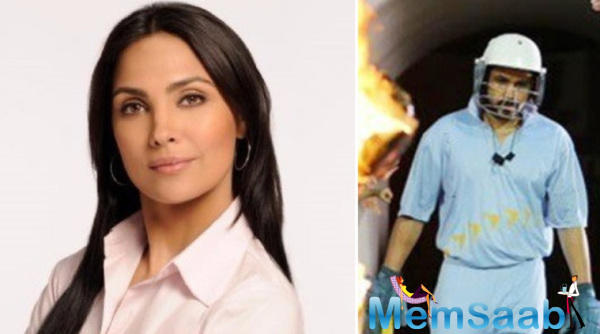 She will be examined as the nemesis of Azharuddin in the flick as she opposes the former Indian cricketer trying to prove that he's guilty of match fixing.
