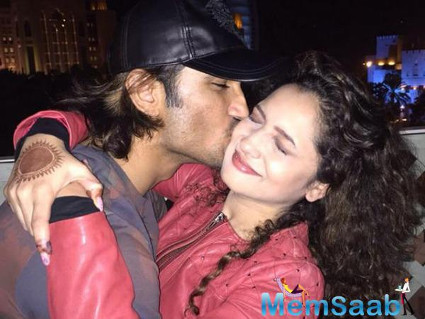 After a lot of  buzz about their split, now, Ankita has commented on the situation clearly and concisely, she articulated, 'I love Sushant Singh Rajput, break-up rumors baseless.