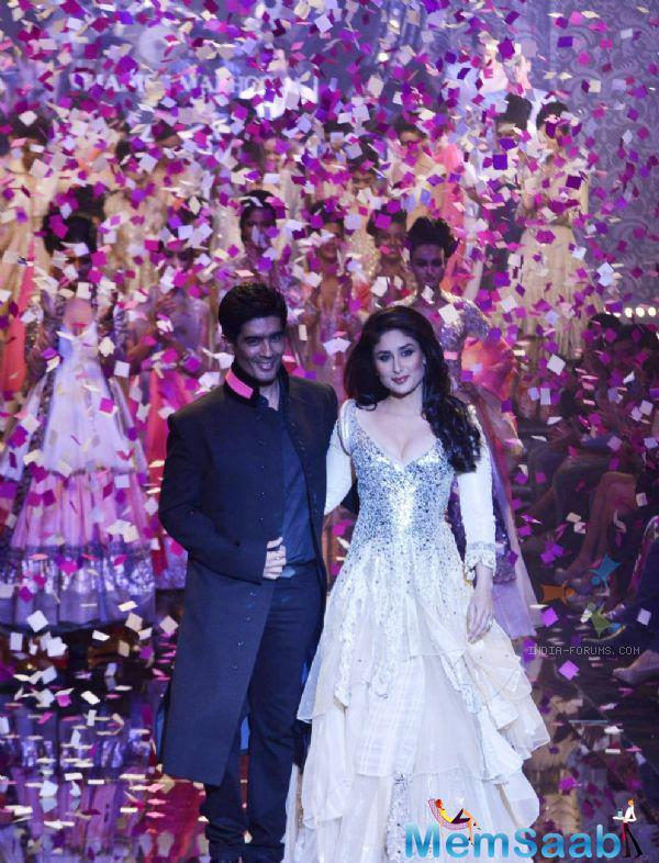 Arjun co star  Kareena Kapoor Khan, who Malhotra considers his 'lucky mascot', was also present for the press meet.