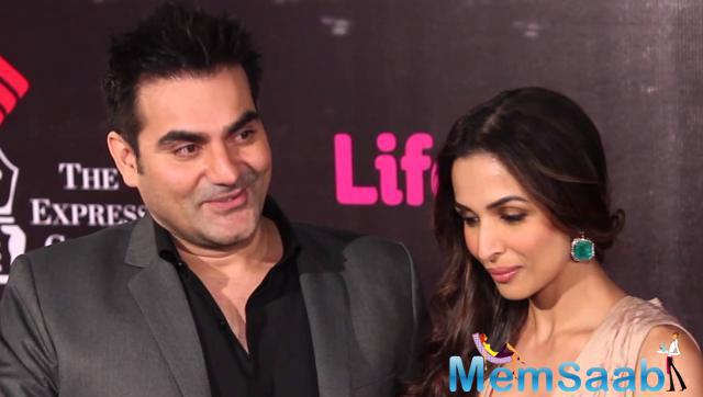 This caption confused all and many thought that post their separation Malaika Arora Khan and Arbaaz Khan partied together.