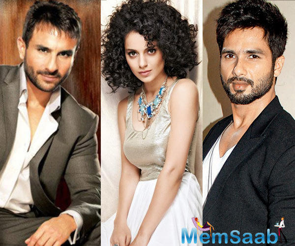Not much is known about 'Rangoon' other than that it is set during the World War II. The film will also star Kangana Ranaut and Saif Ali Khan.