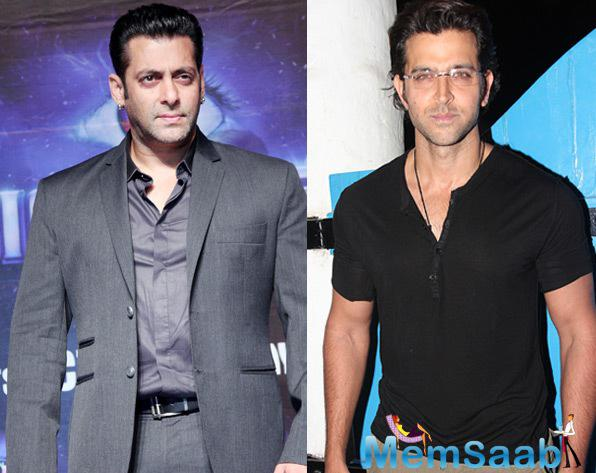 Currently Hrithik is filming for Mahenjo Daro, while Salman Khan busy with his much awaited movie Sultan, which all slated to release in Eid this year.