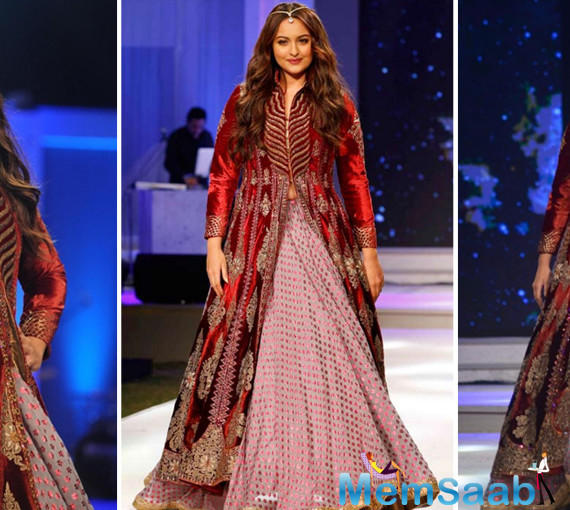 She stated, 'I go so back with Lakme Fashion Week. When I was a student, I was a volunteer here, I used to check passes and make people sit. And now I am walking on the ramp here. My life has definitely come to full circle',