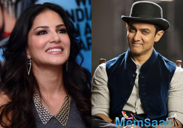Says a source, Aamir Khan expressed his willingness to work with Sunny Leone some time back. He has now followed up his verbal commitment to actually finding space for Sunny Leone in Dangal.
