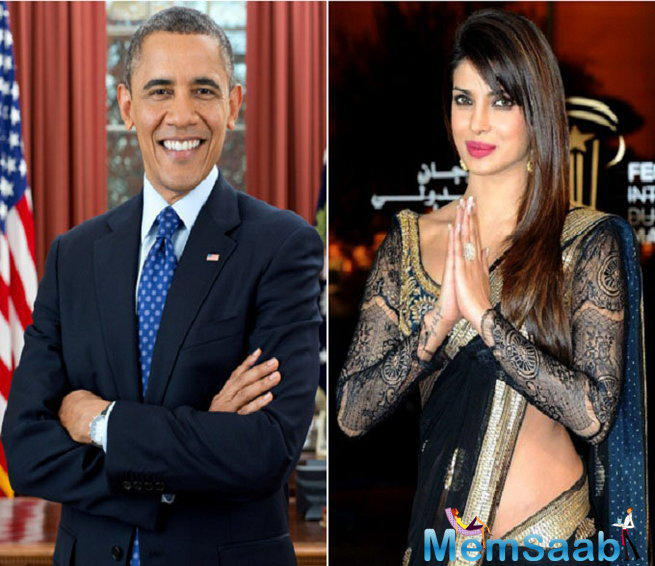 Priyanka Chopra, who has taken over the west with a storm, has been invited to the annual White House Correspondents dinner later this month to be attended by President Barack Obama and First Lady Michelle Obama.