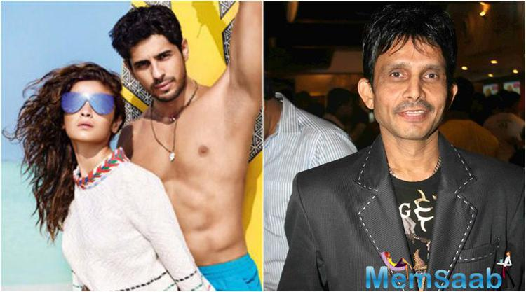 Sidharth and Alia Bhatt took to Twitter last month to post the cover photograph of a magazine