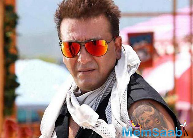 There have been incessant rumours about what's going to be actor Sanjay Dutt's first project post his release from jail. A lot of speculations were being made on the same.