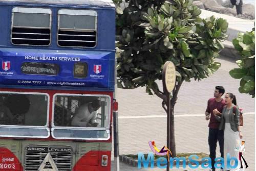 Aditya and Shraddha all set to romance at Marine Drive for their upcoming flick Ok Jaanu