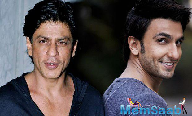As per the report Ranveer To Share Screen Space With SRK In Shimit Amin's Next.