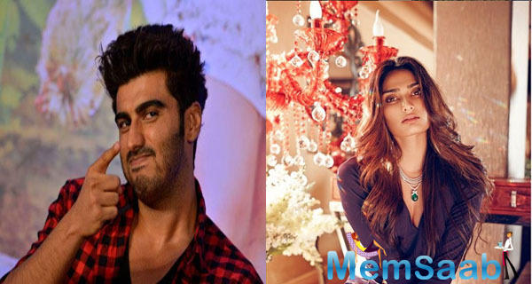 Arjun and Athiya Shetty are among the latest actors to have caught the fancy of gossip-mongers.