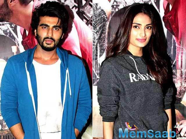 Arjun Kapoor's name has been linked with several actors in the past, and this time around, it is Suniel Shetty's daughter Athiya.