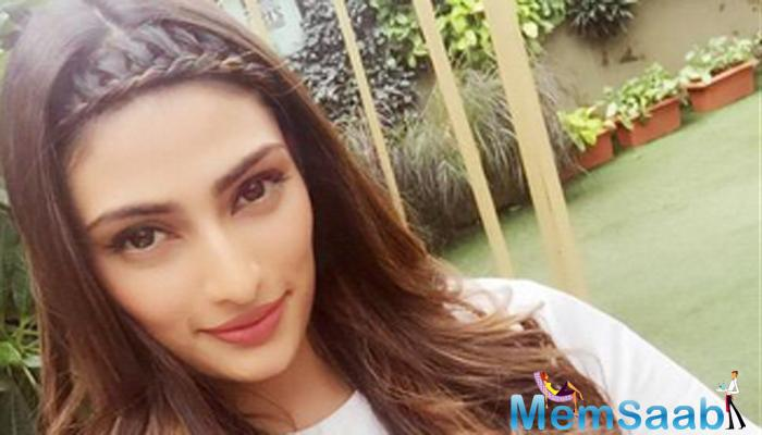 It is embarrassing to get linked to someone you have known for a long time. She Athiya Shetty  is a sweet girl, the Tevar actor added.
