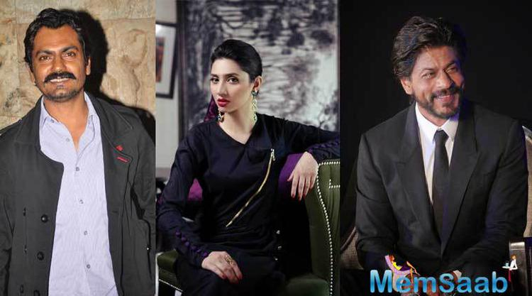 Raees, which stars Shah Rukh as a liquor baron, have also starred Pakistani actress Mahira Khan, who will arrive at her first appearance in Bollywood with this movie. The film's cast also includes Nawazuddin Siddiqui.
