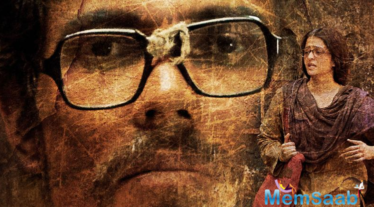 The second poster depicts an unspoken story with a longing image of actor Randeep Hooda as Sarbjit Singh and determined sister Dalbir Kaur played by Aishwarya Rai Bachchan.