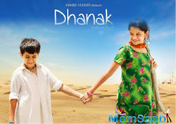Shah Rukh Khan was so moved by the trailer of Dhanak that he took to Twitter to give her best wishes to Chotu and Pari.