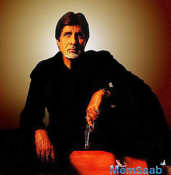 It seems the script of the film has been written keeping in mind Big B as one of the stars.