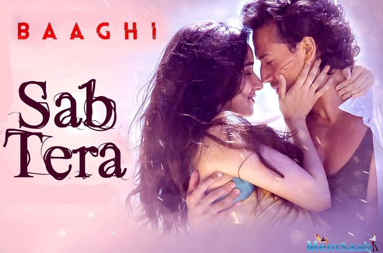 Apart from romancing Tiger Shroff  in her film's new song 'Sab Tera', Shraddha has also lent her voice for the track.
