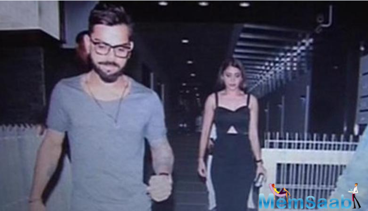 The things are looking up for again for Anushka Sharma and Virat as the two were spotted on a dinner date