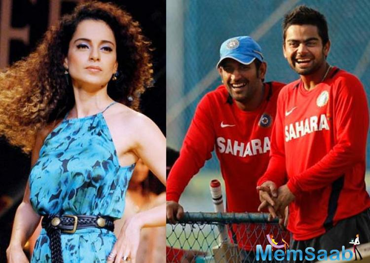 But this is the first time that two top names from the cricket world will be considered running with a top Bollywood actress. Kangana is looking ahead to playing with her new co-stars', added the insider.