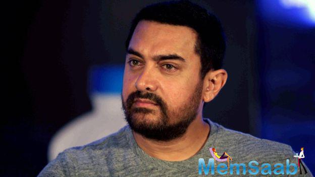 Everyone is left in awe of the sheer dedication he has exhibited to achieve Aamir current look.