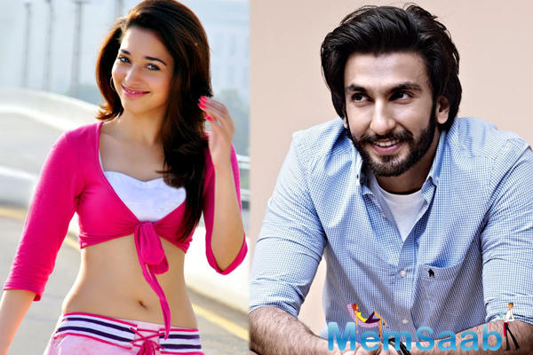 Bajirao Mastani' actor Ranveer Singh and actress Tamannaah Bhatia will star in filmmaker Rohit Shetty's next movie.