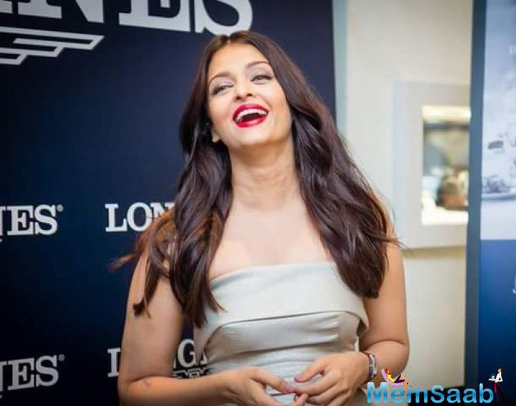 The actress Aishwarya will also be seen in Karan Johar's next directorial 'Ae Dil Hai Mushkil' slated to release on Diwali this year.