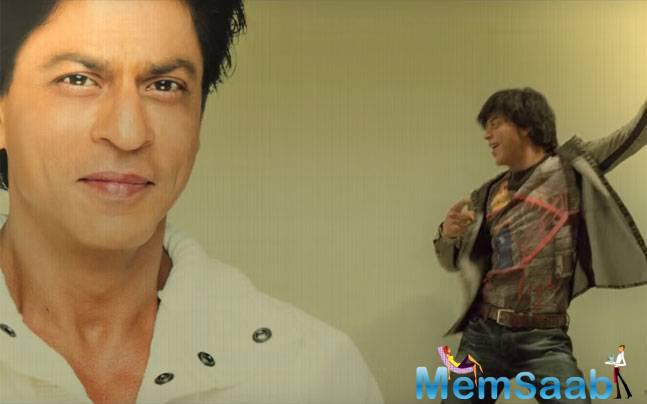 In the song, we see Shah Rukh's biggest fan, Gaurav dancing around as he proclaims his adoration for the star in 'Jabra Fan' song.