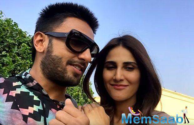 The actress Vaani Kapoor, who made her debut with 'Shuddh Desi Romance' will now be seen romancing chocolate-boy Ranveer Singh in this one.