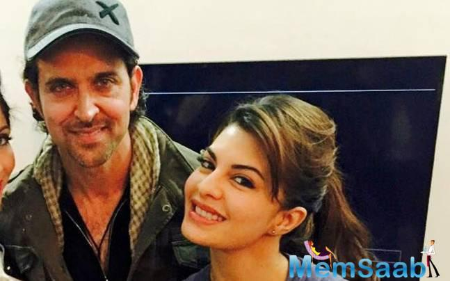 On 26th March, Hrithik Roshan donated a substantial amount to help Jacqueline Fernandez build homes for at least 10,000 families.