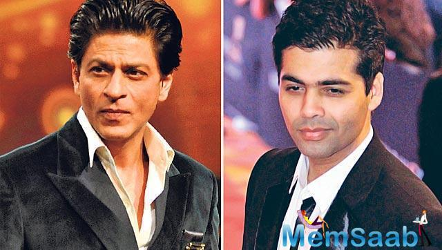 Director Karan Johar can't control his excitement about his close friends Shah Rukh Khan and Aditya Chopra's latest collaboration 'Fan'.