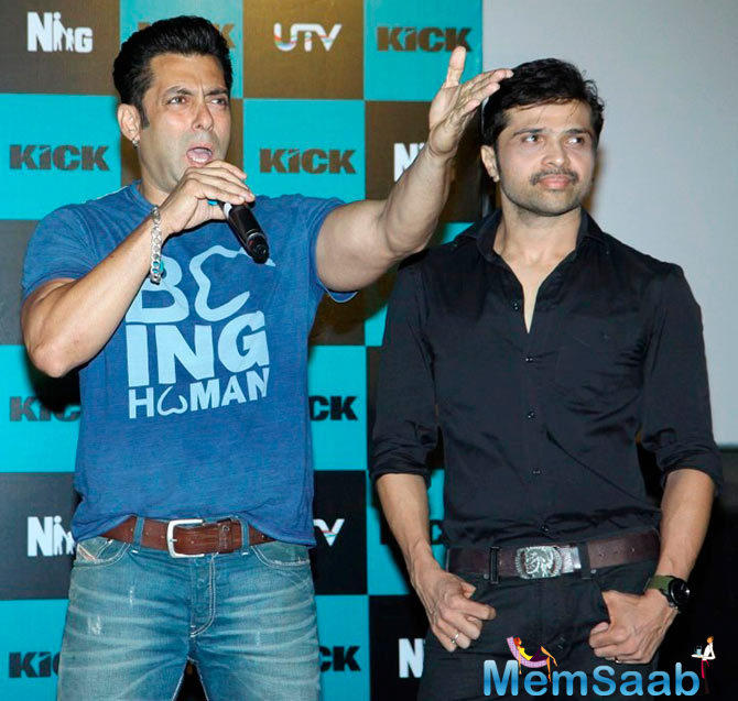 Salman Khan was so impressed with the composer's work on his film 'Prem Ratan Dhan Payo' that he decided to bring Himesh on board with 'Kick 2'.