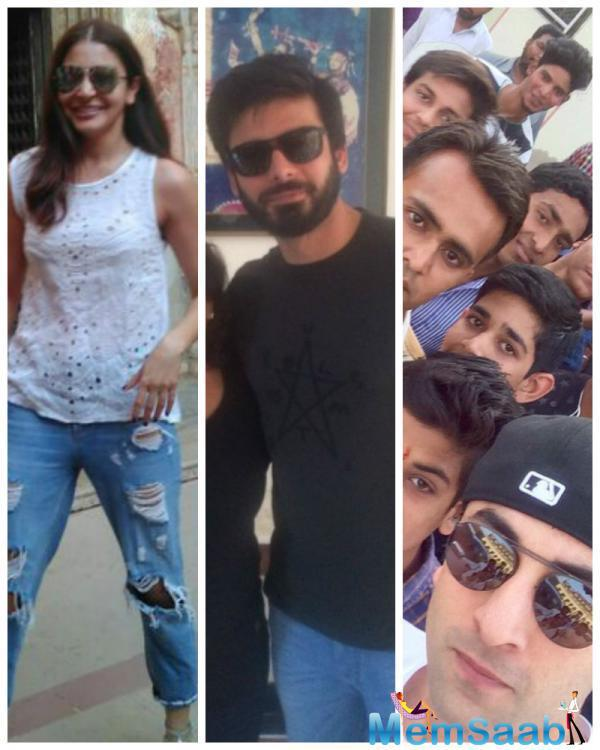 Earlier, it was reported that Fawad Khan's role in the upcoming flick Aye Dil Hai Mushkil has been continued and straight off, it has been disclosed that he and Anushka Sharma will be taking on the Pakistani lovebirds in the picture.