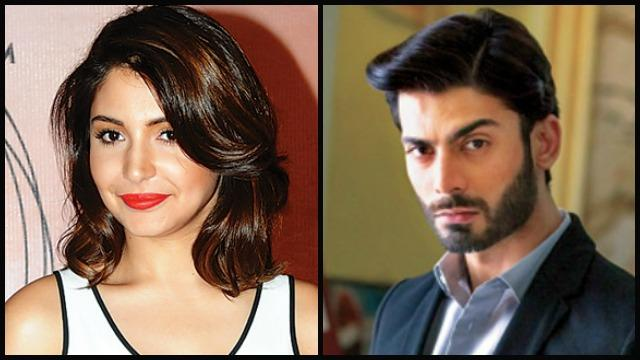 Fawad and Anushka, whose are lead in Aye Dil Hai Mushkil to play Pakistani lovebirds in this picture.