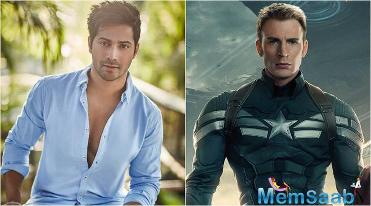 Varun Dhawan is all set to lend his voice to Chris Evans' Captain America in the Hindi version of the much-anticipated