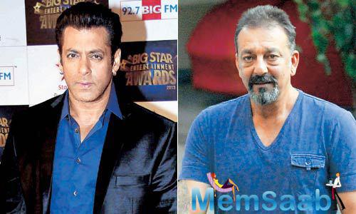Sanjay and Salman Khan are known to be great allies and they have played together in many movies like 'Saajan', 'Dus' and 'Chal Mere Bhai'. They have even hosted one season of 'Bigg Boss' together.