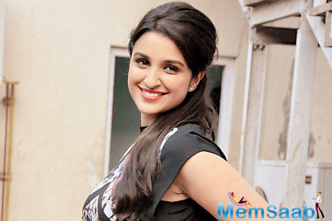 """Parineeti Chopra says for crooning a number together, they first """"have to be in the same country""""."""