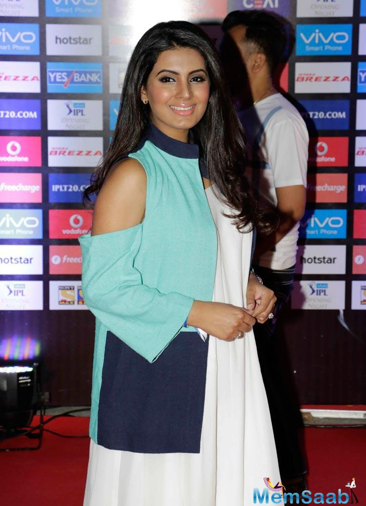Ever, since Geeta Basra was marked at the IPL ceremony in a loose white dress and sneakers, rumours about her being pregnant, have been doing the rounds.