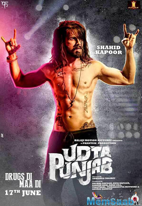 'Udta Punjab', a neo-noir drama thriller, deals with substance abuse in the Indian state of Punjab. Directed by Abhishek Chaubey.
