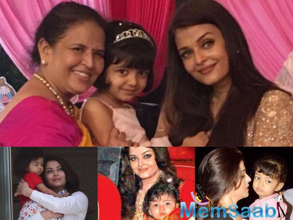 Aishwarya Rai Bachchan, who will be next seen in Sarbjit, dedicated her award to her daughter Aaradhya