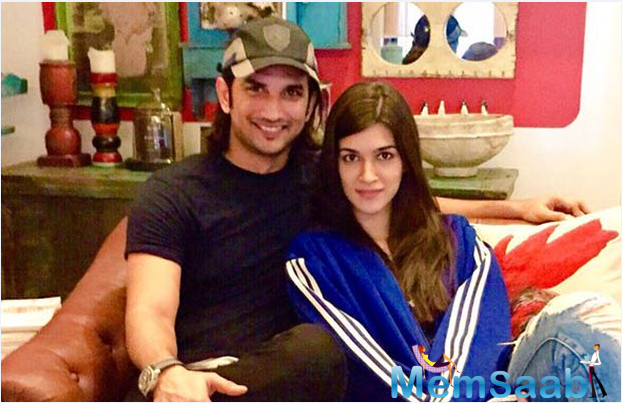If watching them sizzle in the first look of 'Raabta' wasn't enough, brace yourself as more pictures of the two stars Sushant Singh Rajput and Kriti Sanon will be coming your way.
