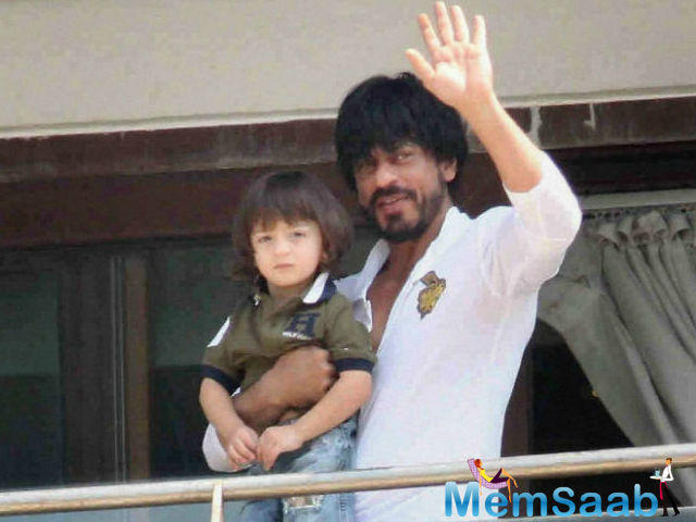 In his biopic, he articulated, I think my sons Aryan and Abram should perfect to hold on the leading role, rather than choosing any other actor.