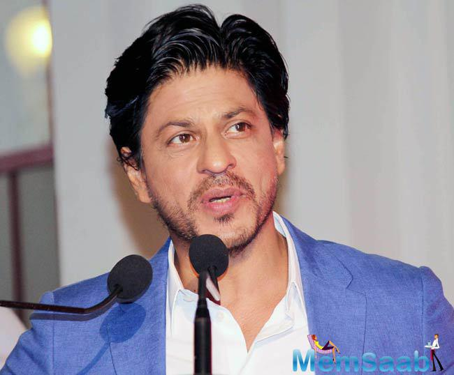 When Shah Rukh was asked roughly the estimation of his biopic, he joked, I want Sachin Tendulkar to play me'.