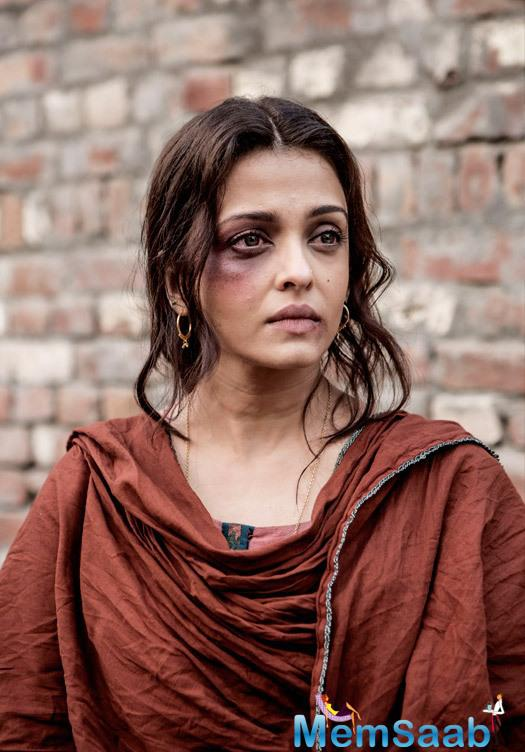 Aishwarya plays Dalbir Kaur, the sister of Sarbjit Singh who died in a Pakistani jail and Actor Randeep Hooda protray the role of Sarbjit Singh