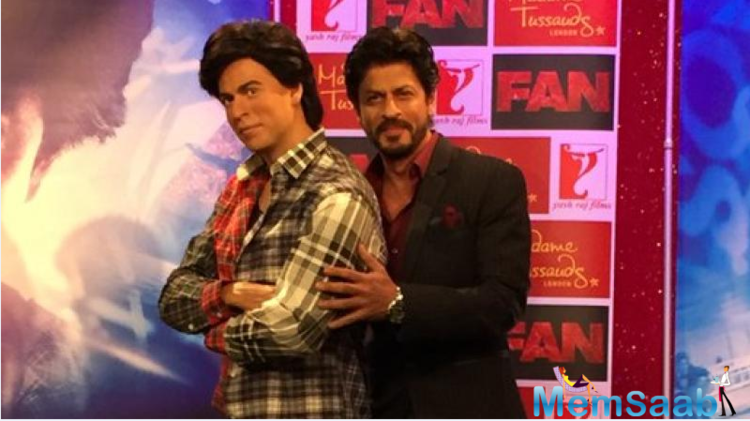 Shah Rukh Khan will be seen in a double role- as superstar Aryan Khanna and his biggest fan and also doppelganger Gaurav- in the Yash Raj Films' thriller.